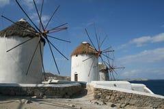 moulins à vent Photos stock