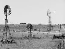 Moulins à vent australiens Image libre de droits
