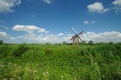 Moulins à vent de Kinderdijk Photographie stock
