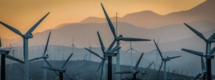 Moulins à vent IV Images libres de droits