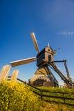 Moulins à vent néerlandais Rotterdam Photo libre de droits