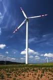Moulins à vent, Pologne Images libres de droits