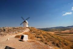 Moulins de moulins à vent de l'Espagne, Consuegra photos libres de droits