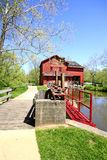 moulins de bonneyville Image libre de droits