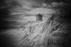 Moulins de dune de sable photographie stock