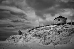 Moulins de dune de sable photos stock