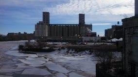 Moulins de grain Photographie stock