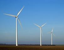 moulins de l'électricité Images libres de droits