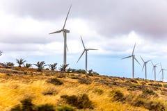 Moulins de vent Image stock