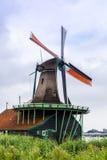Moulins de vent en Hollande Images libres de droits