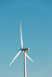 Moulins de vent pendant le lumineux Image libre de droits