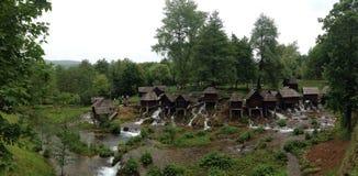 Moulins sur Pliva Photos libres de droits
