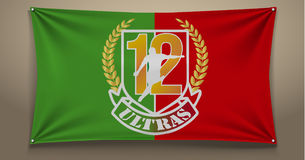 Mouloudia flag Stock Image