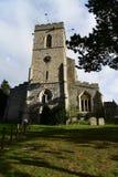 Moulton, церковь Великобритании St Peters стоковые фотографии rf