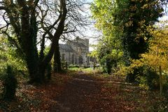 Moulton, церковь Великобритании St Peters Стоковое Изображение