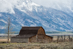 Moulton Barn at Grand Teton NP Royalty Free Stock Photography