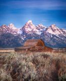 Moulton Barn Grand Teton, Wyoming Stock Photo