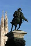 Moumental Milán Imagen de archivo libre de regalías