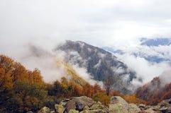 Moumtains im Herbst Lizenzfreies Stockbild