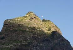 Mounatain peakes on Madeira Royalty Free Stock Photography