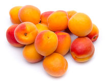 Mound of apricots Royalty Free Stock Photo