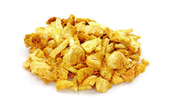 Mound Crisp Pineapple Chips Royalty Free Stock Photos