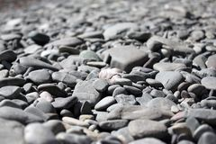 Mound of dry pebbles Royalty Free Stock Photography