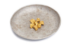 Mound of gold Royalty Free Stock Photos