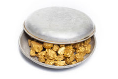 Mound of gold Stock Image