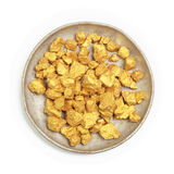 Mound of gold Stock Photography