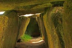 Mound grave Mougau-Bihan Royalty Free Stock Images