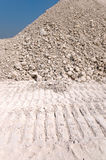 Mound of gravel Royalty Free Stock Photography