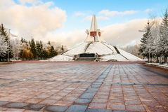 Mound of Immortality. Russia, Bryansk Stock Photography