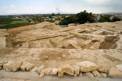 Mound Jericho Stock Photos