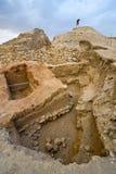 Mound Jericho Royalty Free Stock Images