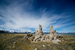 Mound on Mono Lake Royalty Free Stock Photo