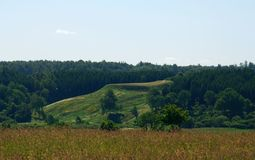 Mound near Kartena Royalty Free Stock Image