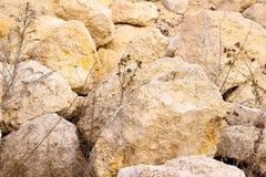 Mound rock Stock Images
