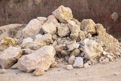 Mound rock Stock Photos