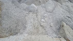 Mound of sand. View of mound of sand Stock Photography