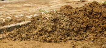 Mound of soils photo taken in Bogor Indonesia Royalty Free Stock Photos