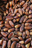 Mound of sweet dried dates. Many delicious dried dates, pattern Stock Photos