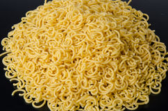 Mound of uncooked short spaghetti Royalty Free Stock Photography