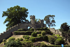 The Mound at Warwick Castle Stock Image
