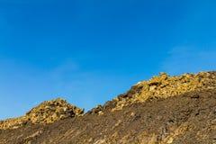 Mound was excavated pile Stock Photos