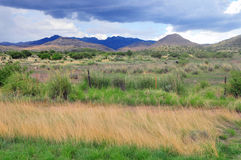 Mounds and mountains of natural beauty Royalty Free Stock Photo