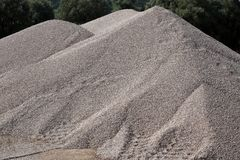 Mounds Of Gravel Stock Photos