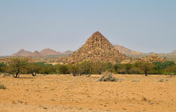 Mounds of stone in Damaraland Royalty Free Stock Photos