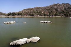 Mount Abu Lake Royalty Free Stock Image