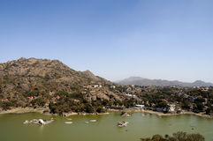 Mount Abu View Stock Image